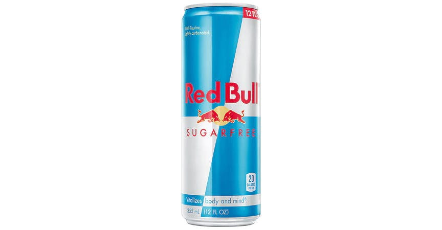 Red Bull Energy Drink Sugar Free (12 oz) from EatStreet Convenience - W Mason St in Green Bay, WI