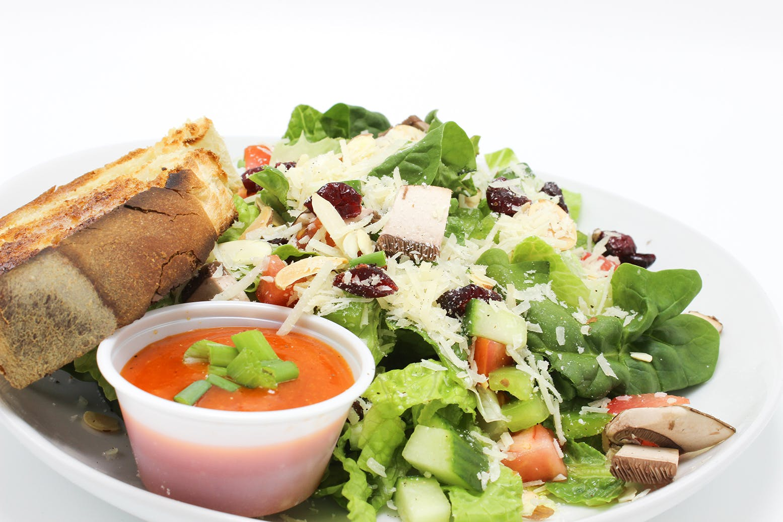 Garden Salad from Grounded Cafe in Green Bay, WI