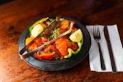 Shrimp Tandoori from India Palace in Lawrence, KS