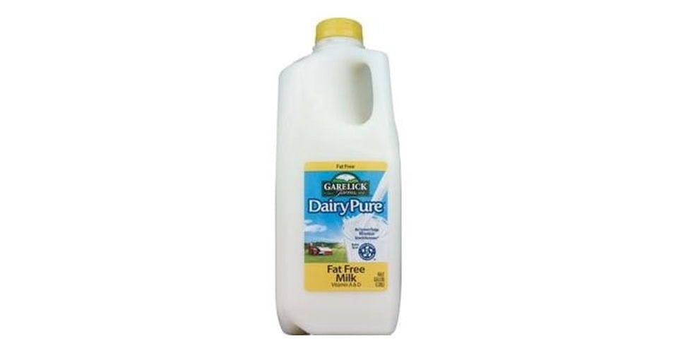 Garelick Farms DairyPure Skim Milk (1/2 gal) from CVS - Main St in Green Bay, WI