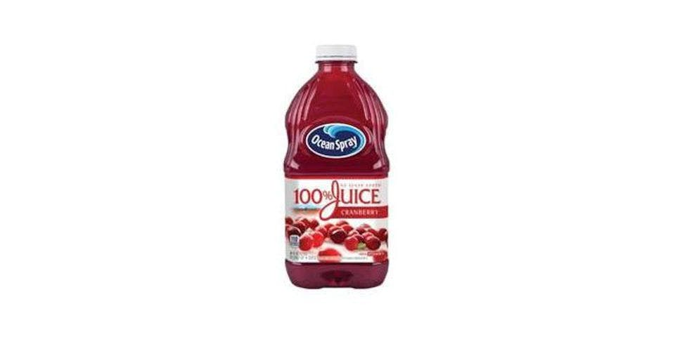 Ocean Spray 100% Juice Cranberry (60 oz) from CVS - Main St in Green Bay, WI