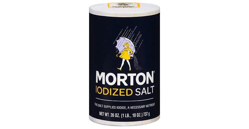 Morton Iodized Table Salt (26 oz) from EatStreet Convenience - W Mason St in Green Bay, WI