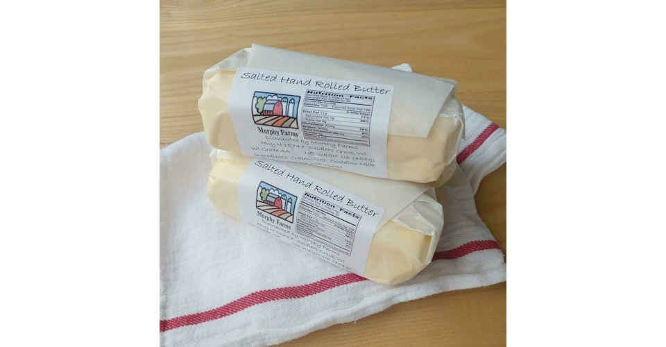 Butter - Salted (1 lb) from Vitruvian Farms in Madison, WI