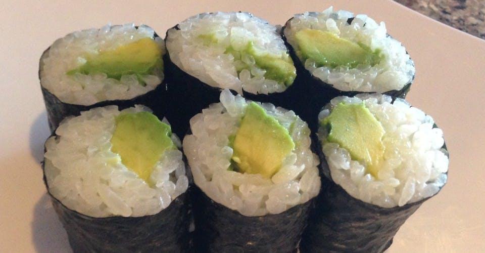 113. Avocado Roll (6 Pcs) from Oishi Sushi & Grill in Walnut Creek, CA
