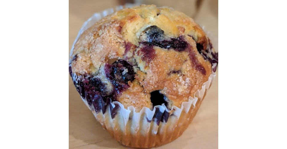 Blueberry Muffin from Patina Coffeehouse in Wausau, WI