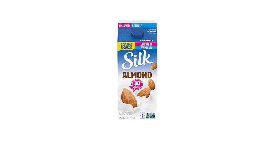 Silk Almond Milk Vanilla Unsweeten 64OZ from Kwik Trip - Eau Claire Water St in EAU CLAIRE, WI