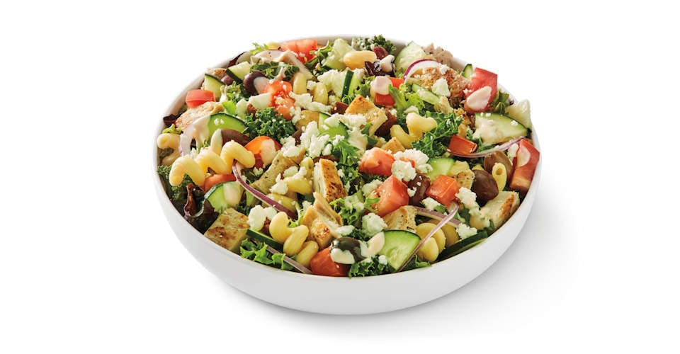 Med Salad with Grilled Chicken from Noodles & Company - Kenosha 118th Ave in Kenosha, WI
