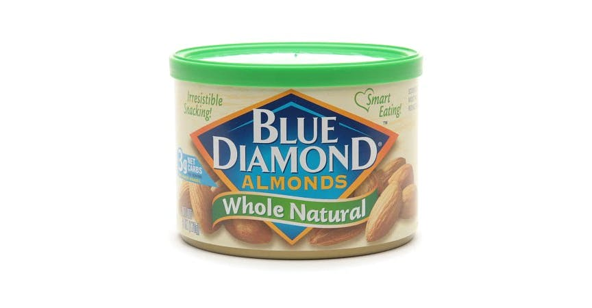 Blue Diamond Almonds Whole Natural (6 oz) from EatStreet Convenience - SW Gage Blvd in Topeka, KS