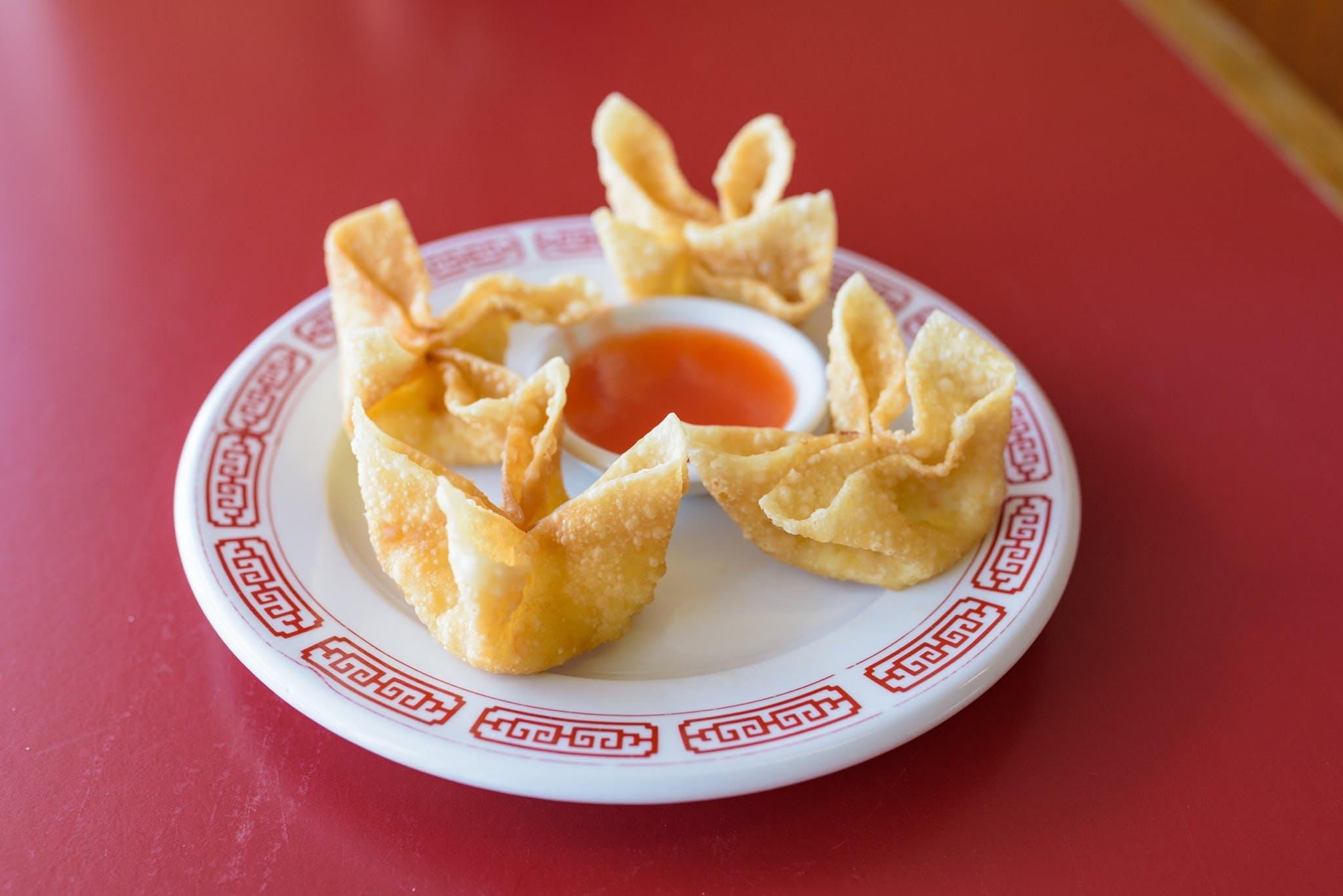 Crab Cheese from Chan Garden in Ann Arbor, MI
