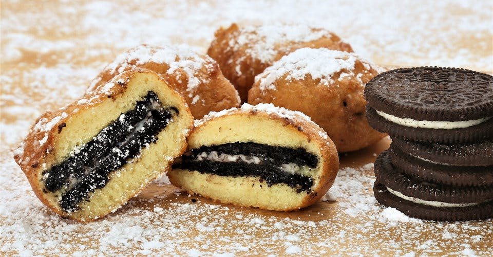 3 Deep-Fried Oreos from Fat Shack - Lawrence in Lawrence, KS