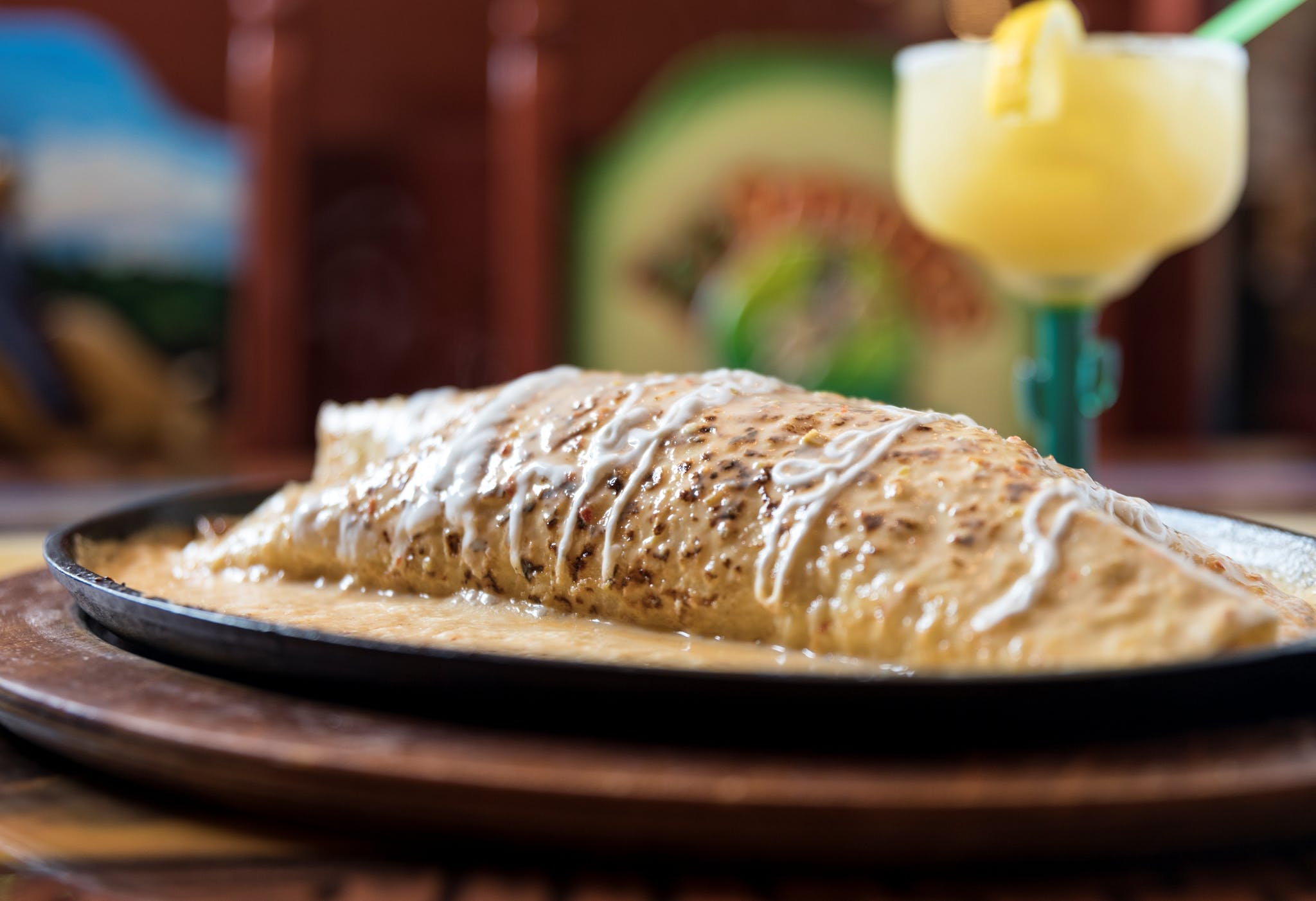 Parrillada Burrito from Los Jaripeos in Oshkosh, WI