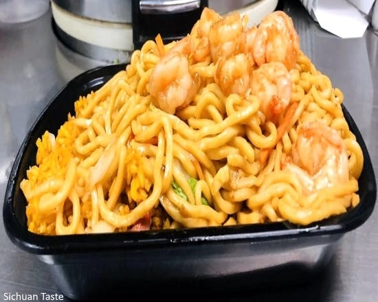 Shrimp Lo Mein (Special Combination) from Sichuan Taste in Cockeysville, MD