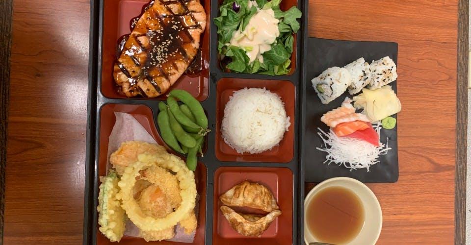 15. Deluxe Bento E from Oishi Sushi & Grill in Walnut Creek, CA