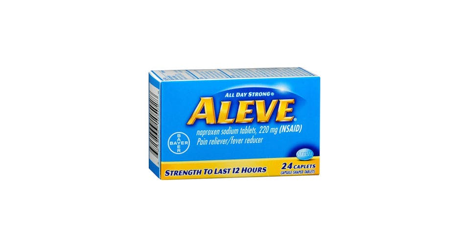 Aleve Caplet 24CT from Kwik Trip - Eau Claire Water St in EAU CLAIRE, WI