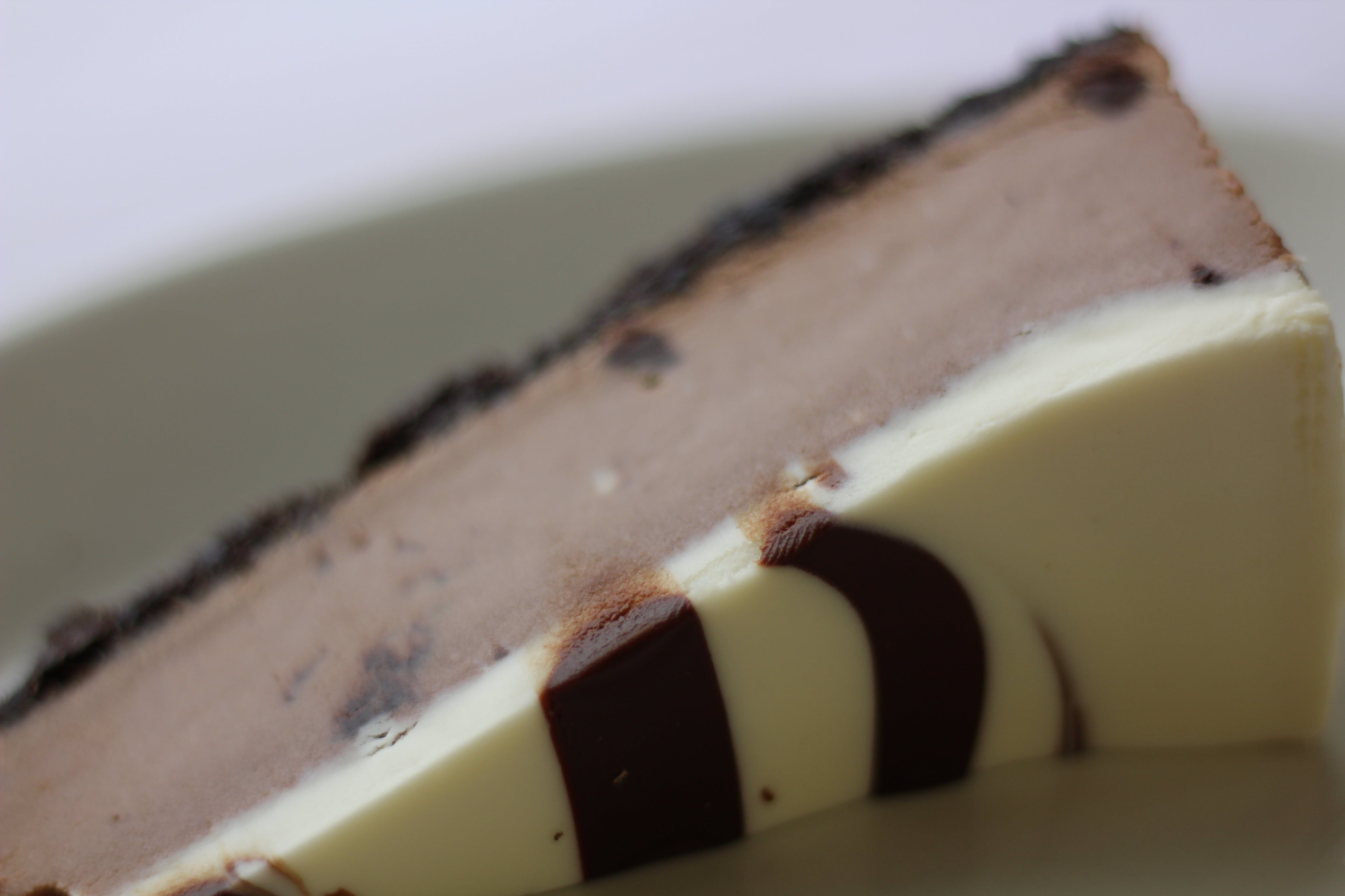 Chocolate Marble Cheesecake from Bacci's Pizza & Pasta - Carrollton in Carrollton, TX