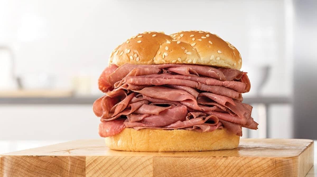 Double Roast Beef (Sandwich Only) from Arby's - Washtenaw Ave in Ypsilanti, Mi