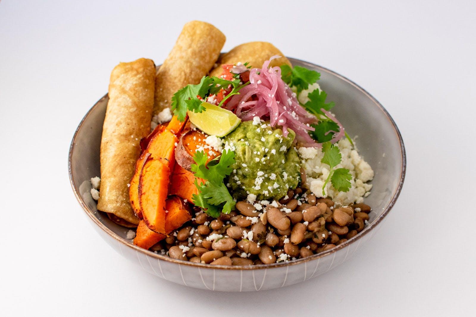 Roasted Sweet Potato Bowl from Taco Royale - Eastside Madison in Madison, WI