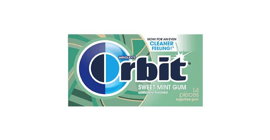 Orbit Sweet Mint Sugarfree Gum Sweetmint (14 ct) from EatStreet Convenience - W Mason St in Green Bay, WI