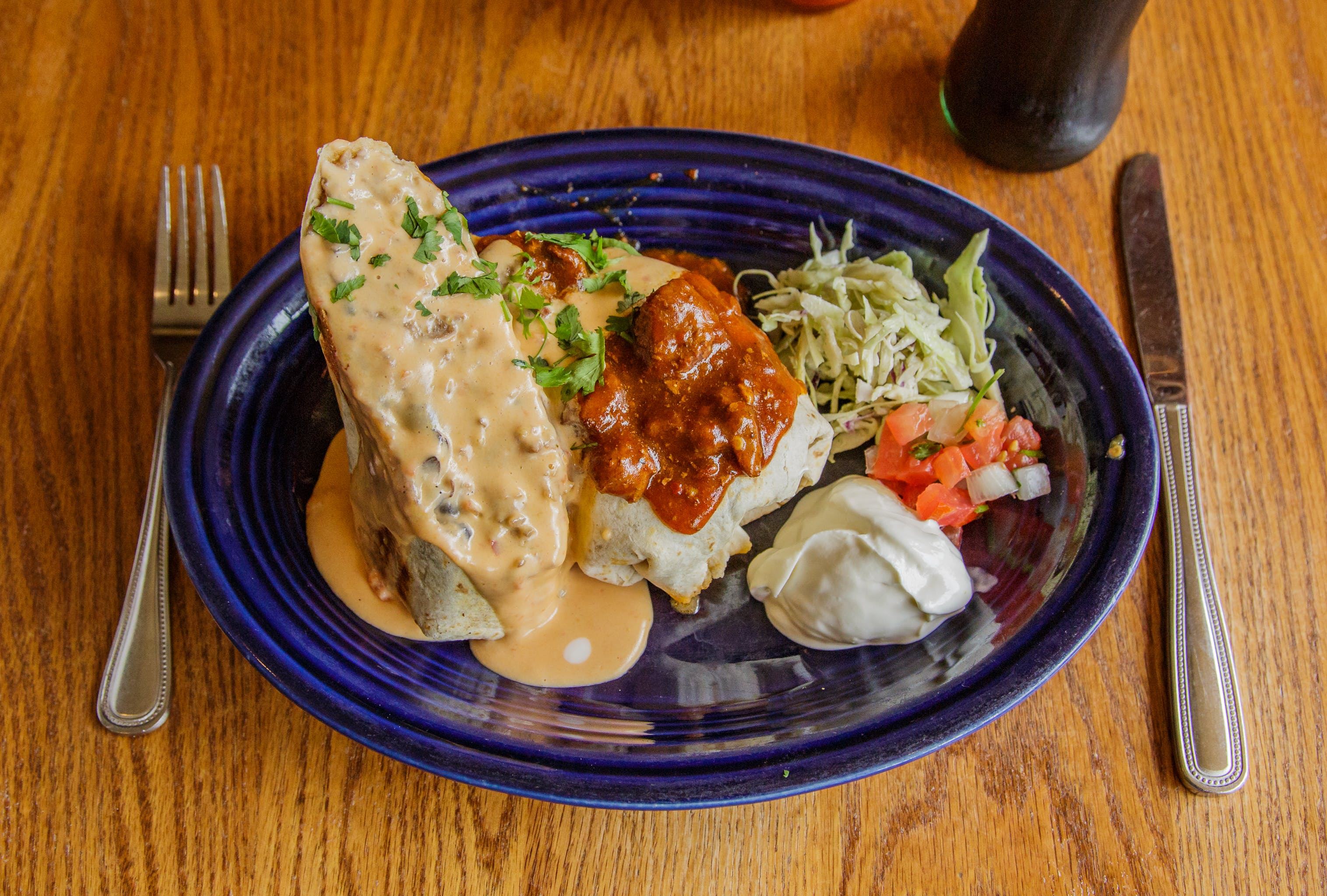 Stuffed Burrito from Tex Tubb's Taco Palace in Madison, WI