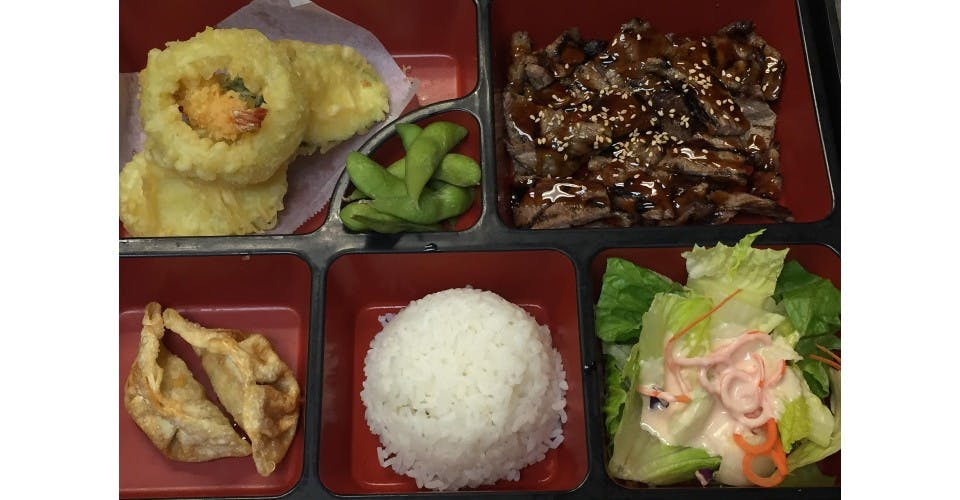2. Lunch Bento B from Oishi Sushi & Grill in Walnut Creek, CA