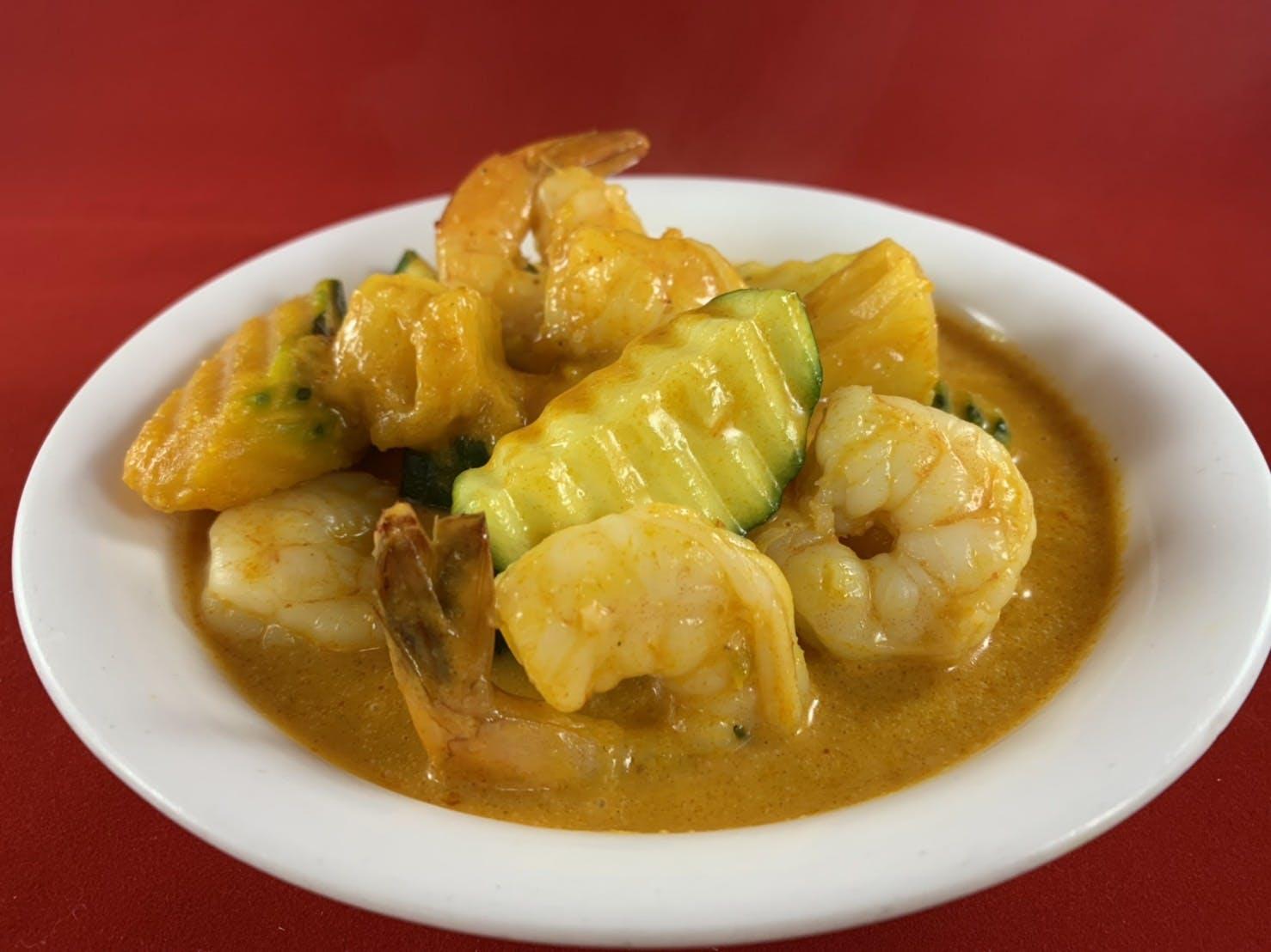 45. Gaeng Kua (Dinner) from Sa-Bai Thong - University Ave in Madison, WI