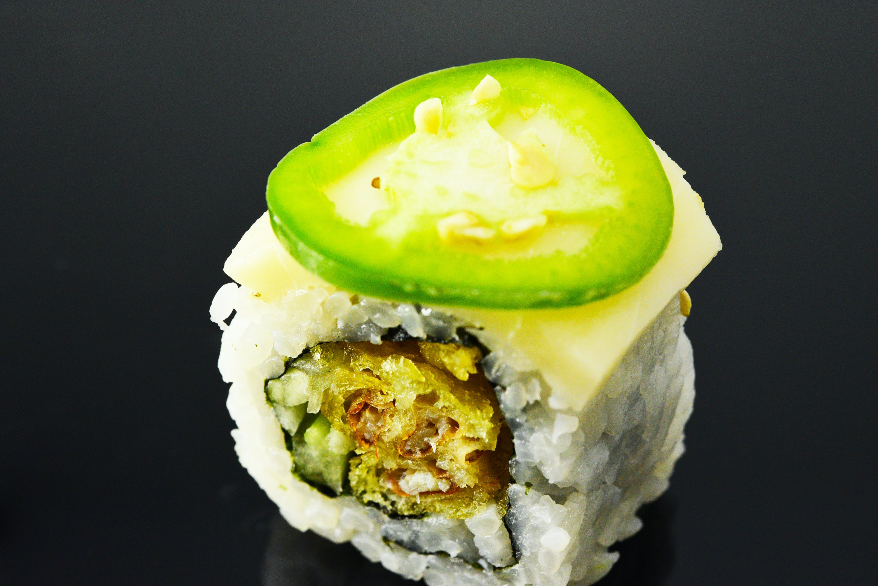 Snow Stone Roll from Fin Sushi in Madison, WI