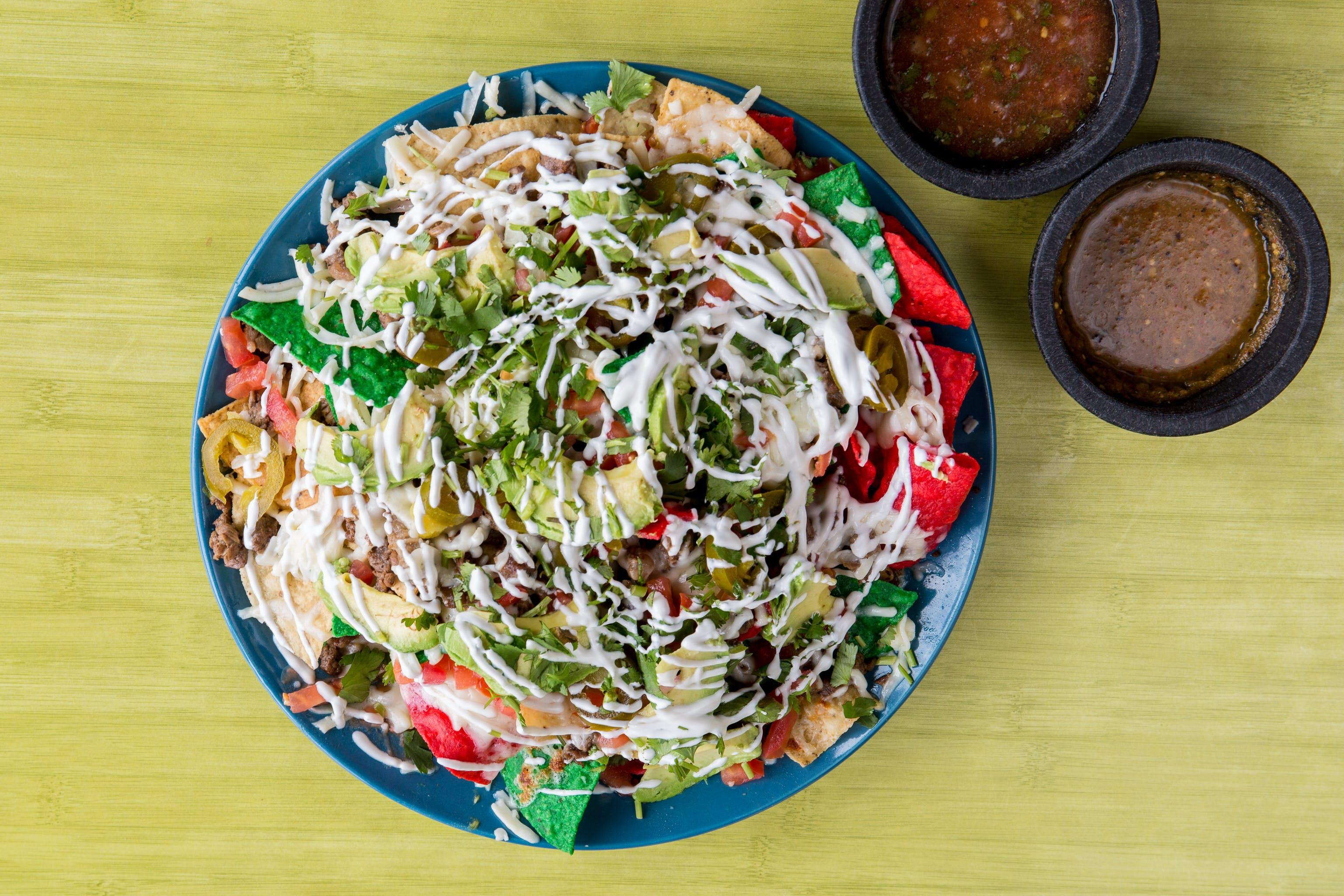 Nachos Mexicanos from Taqueria Guadalajara in Madison, WI