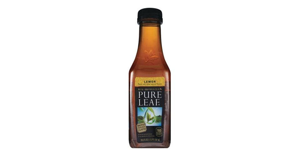 Pure Leaf Real Brewed Tea With Lemon Single Bottle (18.5 oz) from CVS - Main St in Green Bay, WI