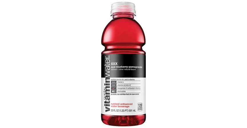 Glaceau Vitaminwater Nutrient Enhanced Beverage Bottle Acai-Blueberry-Pomegranate (20 oz) from EatStreet Convenience - W Mason St in Green Bay, WI