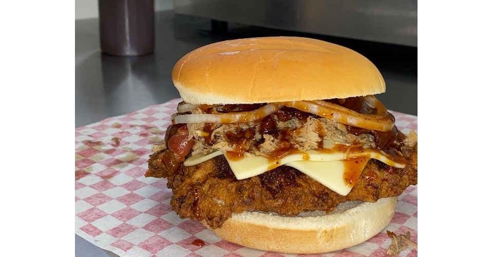 The Big Hog from Rockin Robin's in Topeka, KS