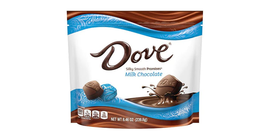 Dove Promises Silky Smooth Milk Chocolate (8 oz) from EatStreet Convenience - SW Gage Blvd in Topeka, KS