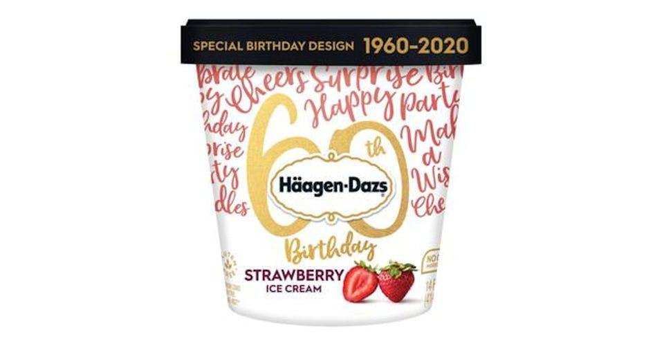 Haagen Dazs Strawberry Ice Cream (14 oz) from CVS - Main St in Green Bay, WI
