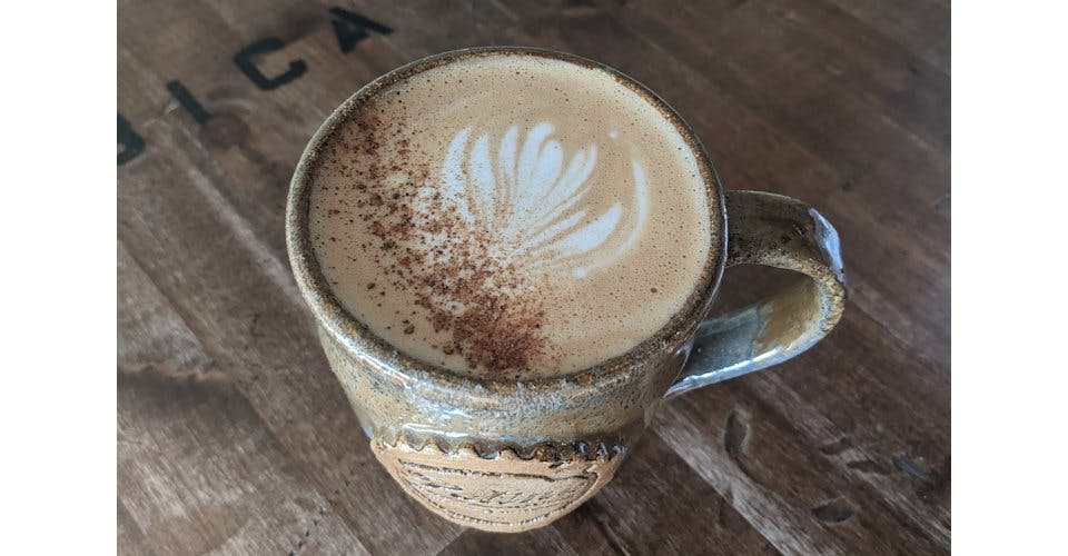 Cappuccino from Patina Coffeehouse in Wausau, WI