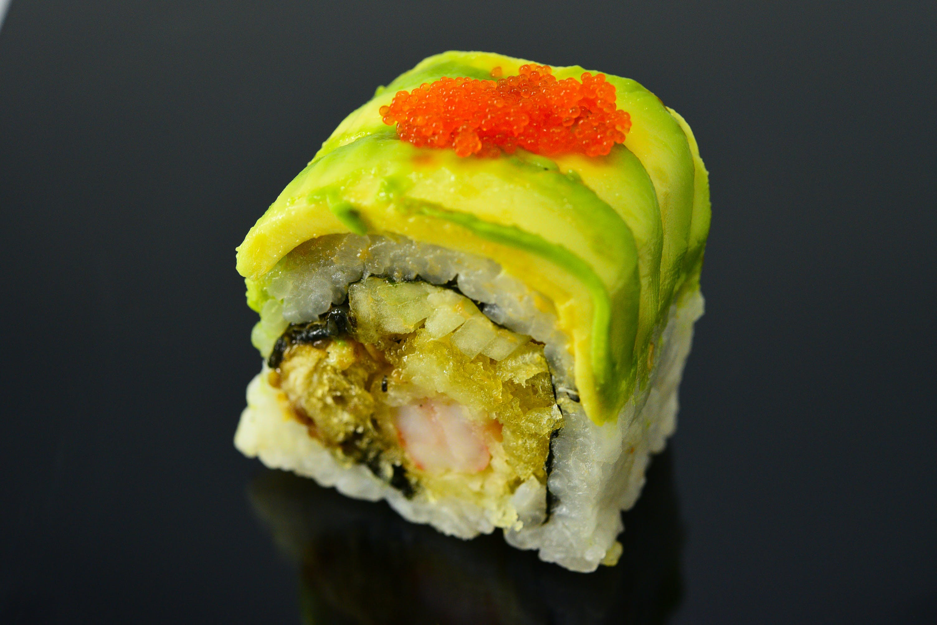 Dragon Roll from Fin Sushi in Madison, WI