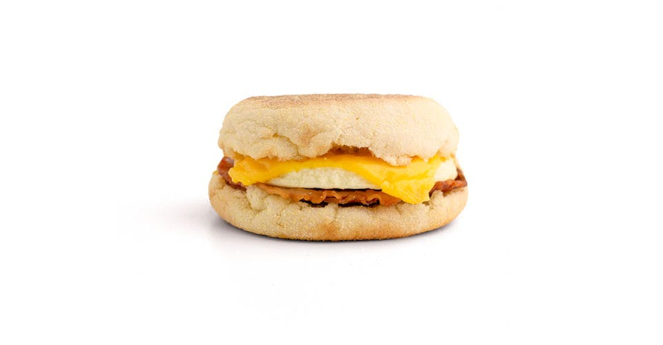 English Muffin Breakfast Sandwiches: Bacon, Egg, & Cheese Muffin from Kwik Trip - Oshkosh W 9th Ave in Oshkosh, WI