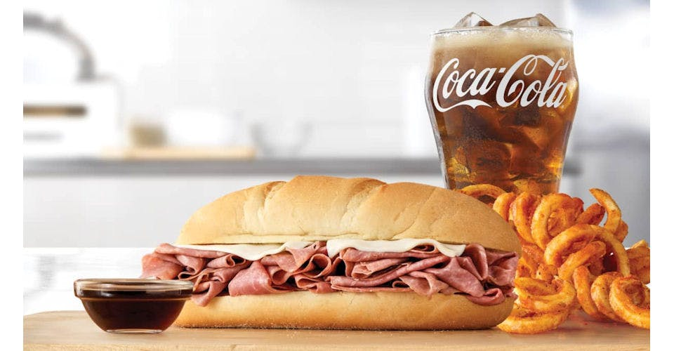 Classic French Dip & Swiss - Make it a Meal from Arby's: Green Bay Cedar Hedge Ln (6888) in Green Bay, WI