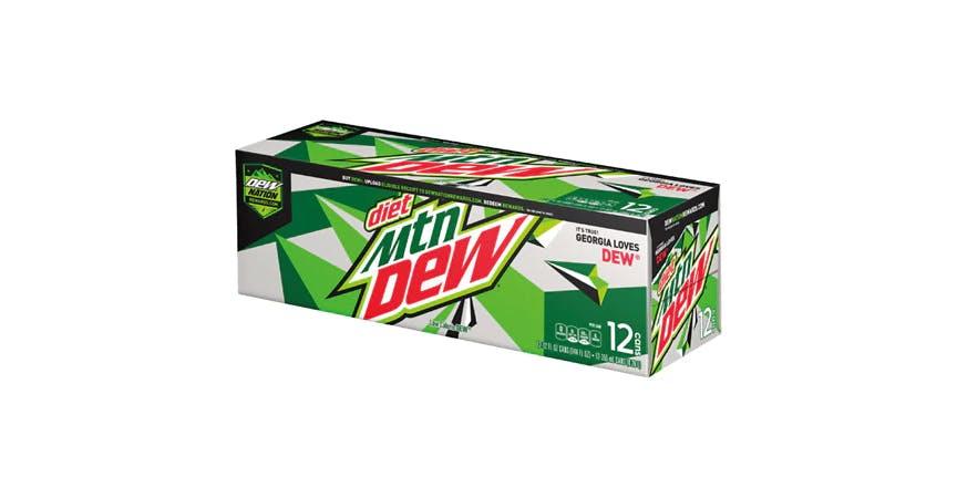 Diet Mountain Dew Soda 12 oz (12 pack) from EatStreet Convenience - W Mason St in Green Bay, WI