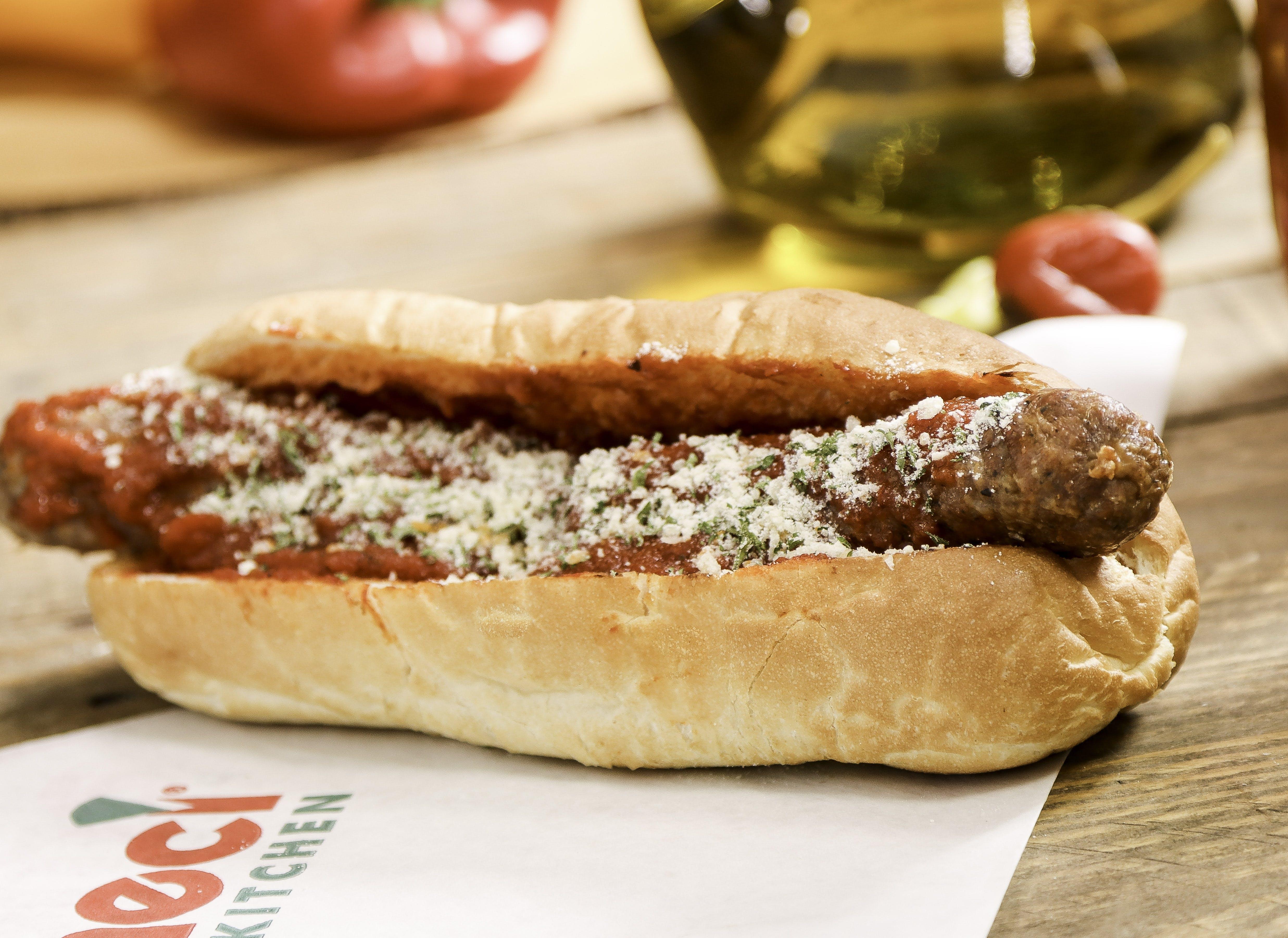 Sausage Sandwich from Ameci Pizza & Pasta - Irvine in Irvine, CA