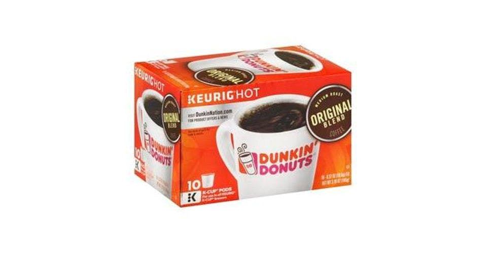 Dunkin' Donuts Original Blend Medium Roast Coffee K-Cup Pods (10 ct) from CVS - Main St in Green Bay, WI