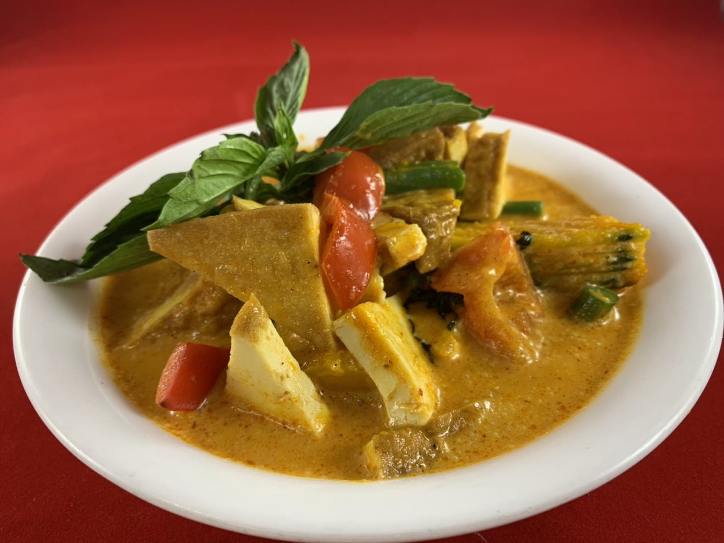 44B. Squash Curry (Dinner) from Sa-Bai Thong - University Ave in Madison, WI