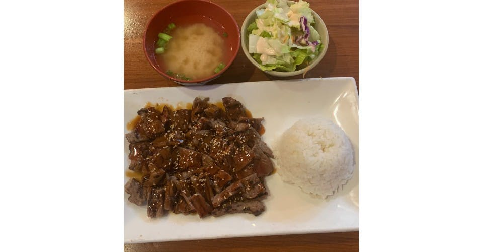 59. Beef Teriyaki Entree from Oishi Sushi & Grill in Walnut Creek, CA