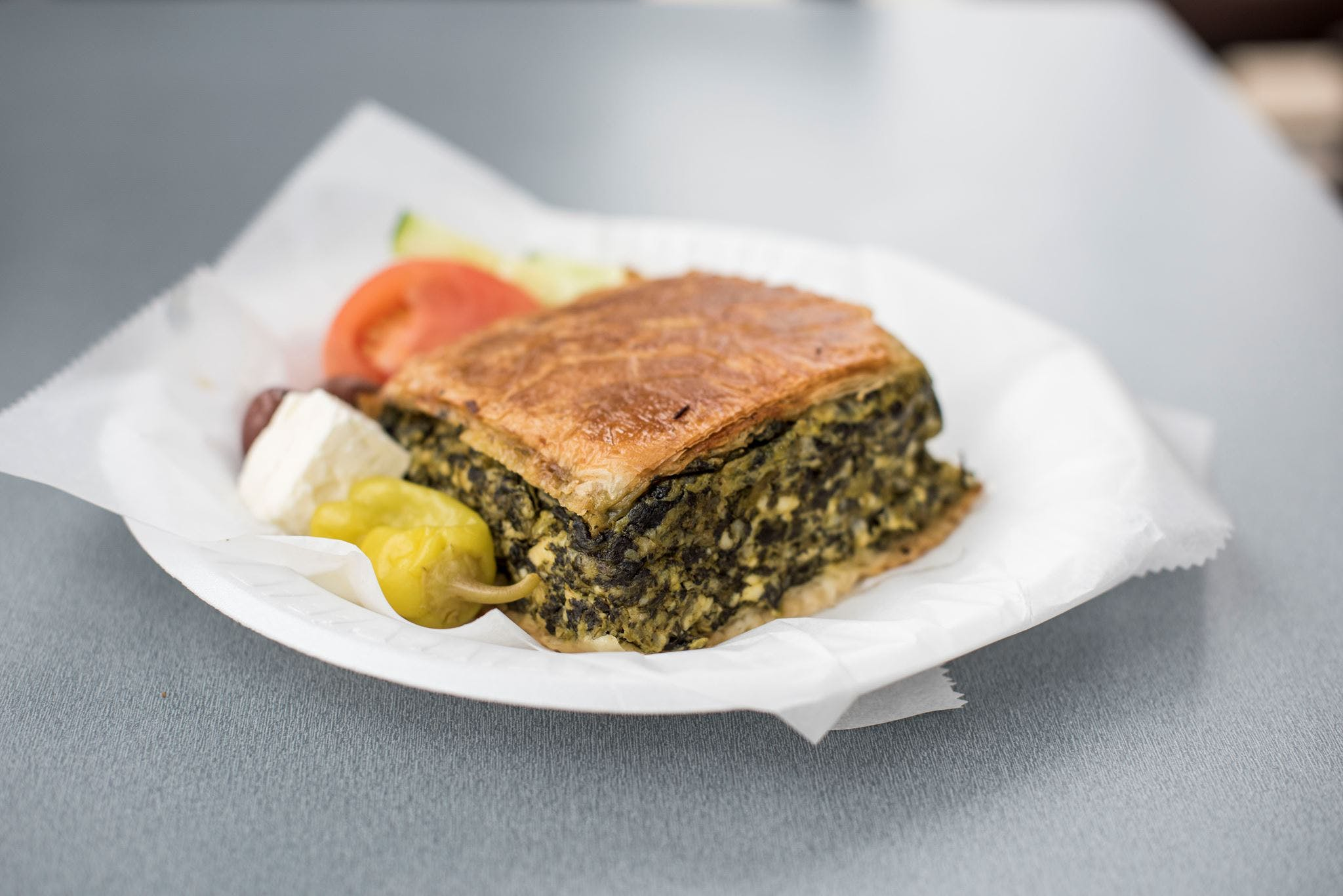 Spinach Pie Plate from Gyro Palace - Glendale in Glendale, WI