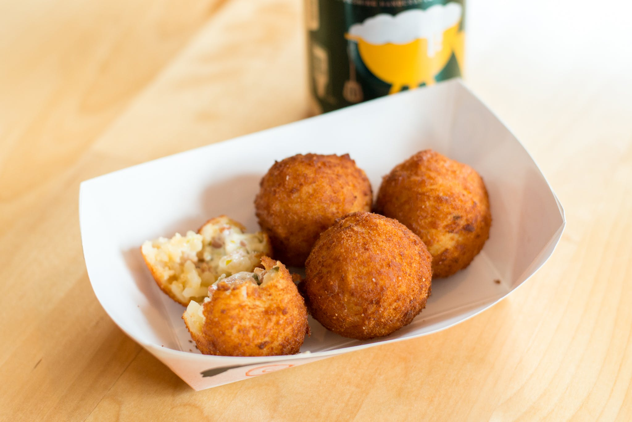 Poppers Homemade Tots from The Booyah Shed in Green Bay, WI