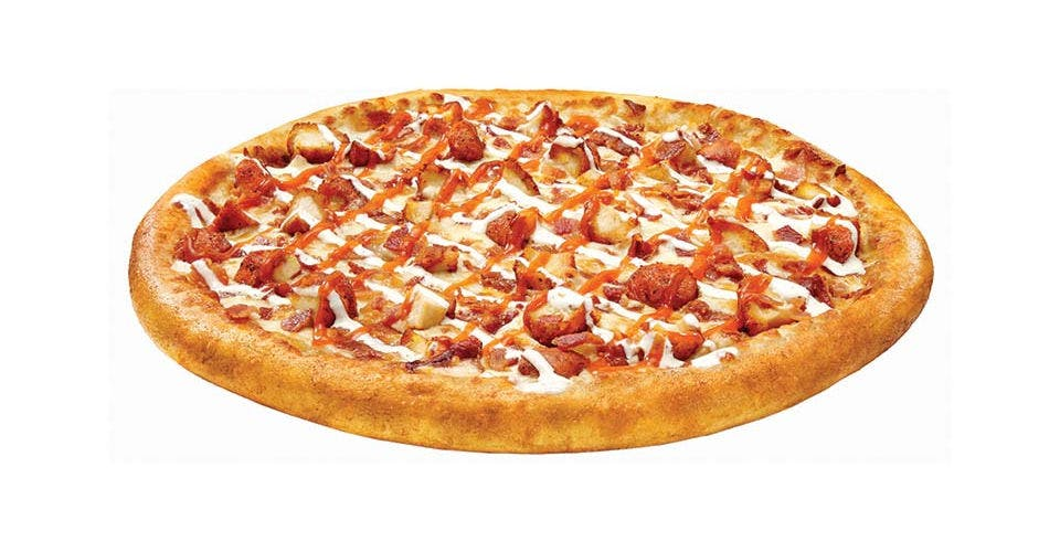 Buffalo Chicken Topper Pizza from Toppers Pizza - Madison Downtown in Madison, WI