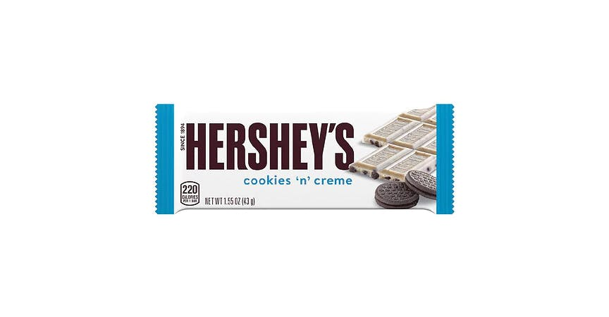 Hershey's Cookies 'n' Creme Candy Bar (2 oz) from EatStreet Convenience - W Mason St in Green Bay, WI