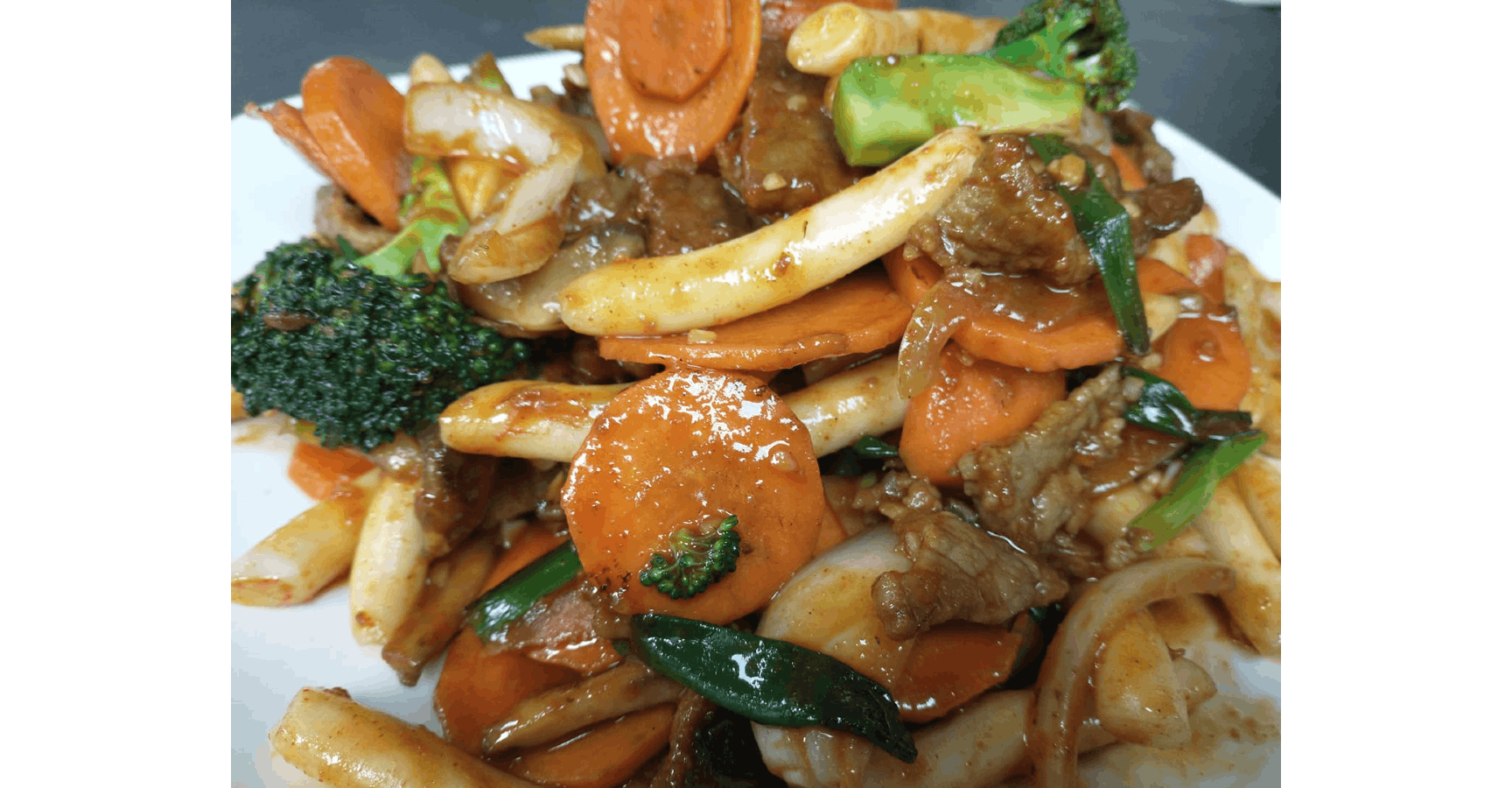 Tteokbokki ( Spicy) from Hongdae in Eau Claire, WI