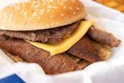 Gyro Cheeseburger from Niko's Gyros in Appleton, WI
