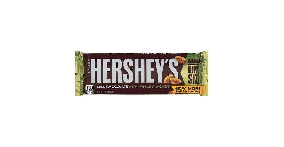 Hershey's Milk Chocolate With Almonds King Size (2.6 oz) from CVS - Main St in Green Bay, WI