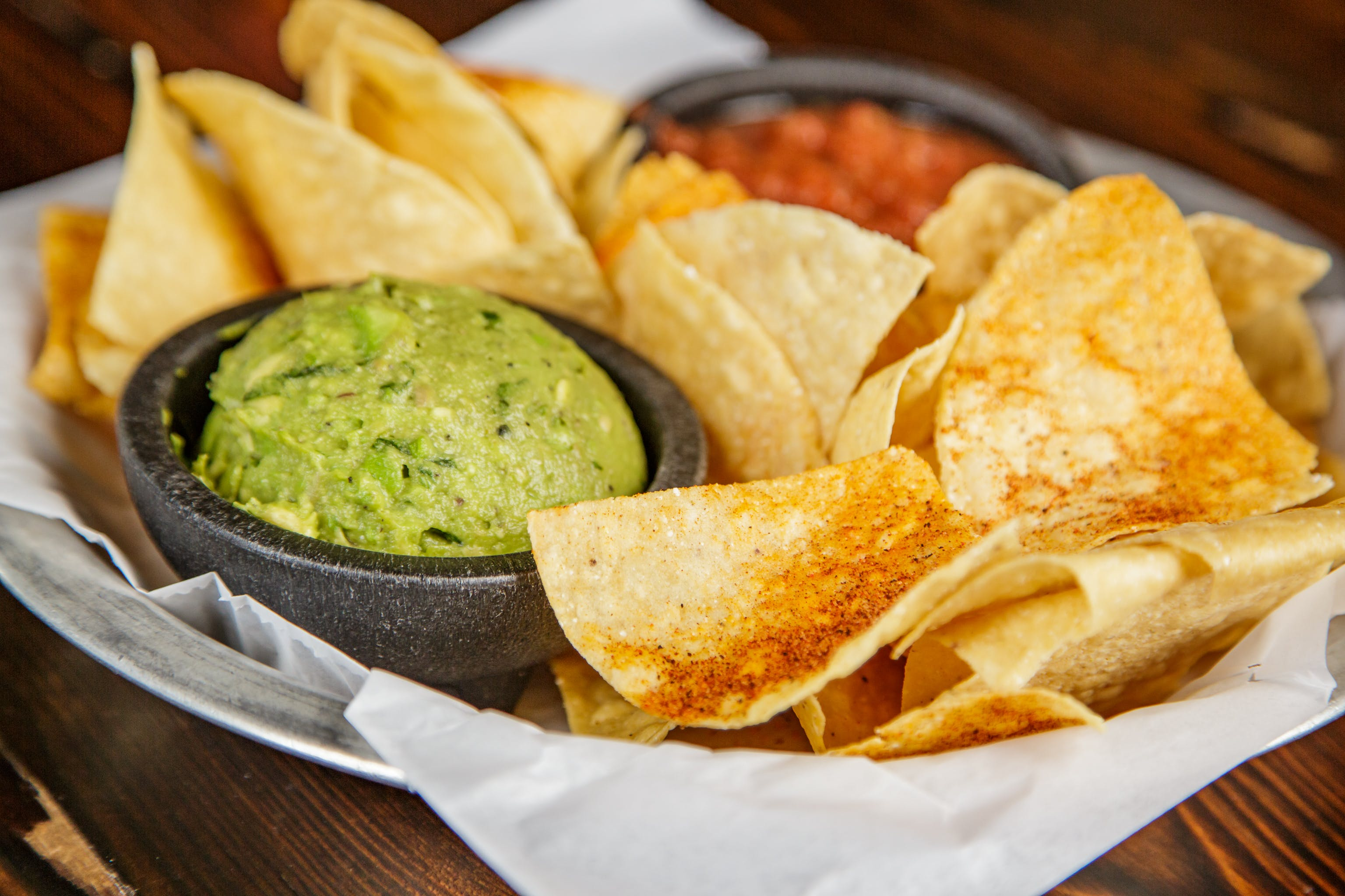 Chips & Guacamole from Pasqual's Cantina - Hilldale in Madison, WI