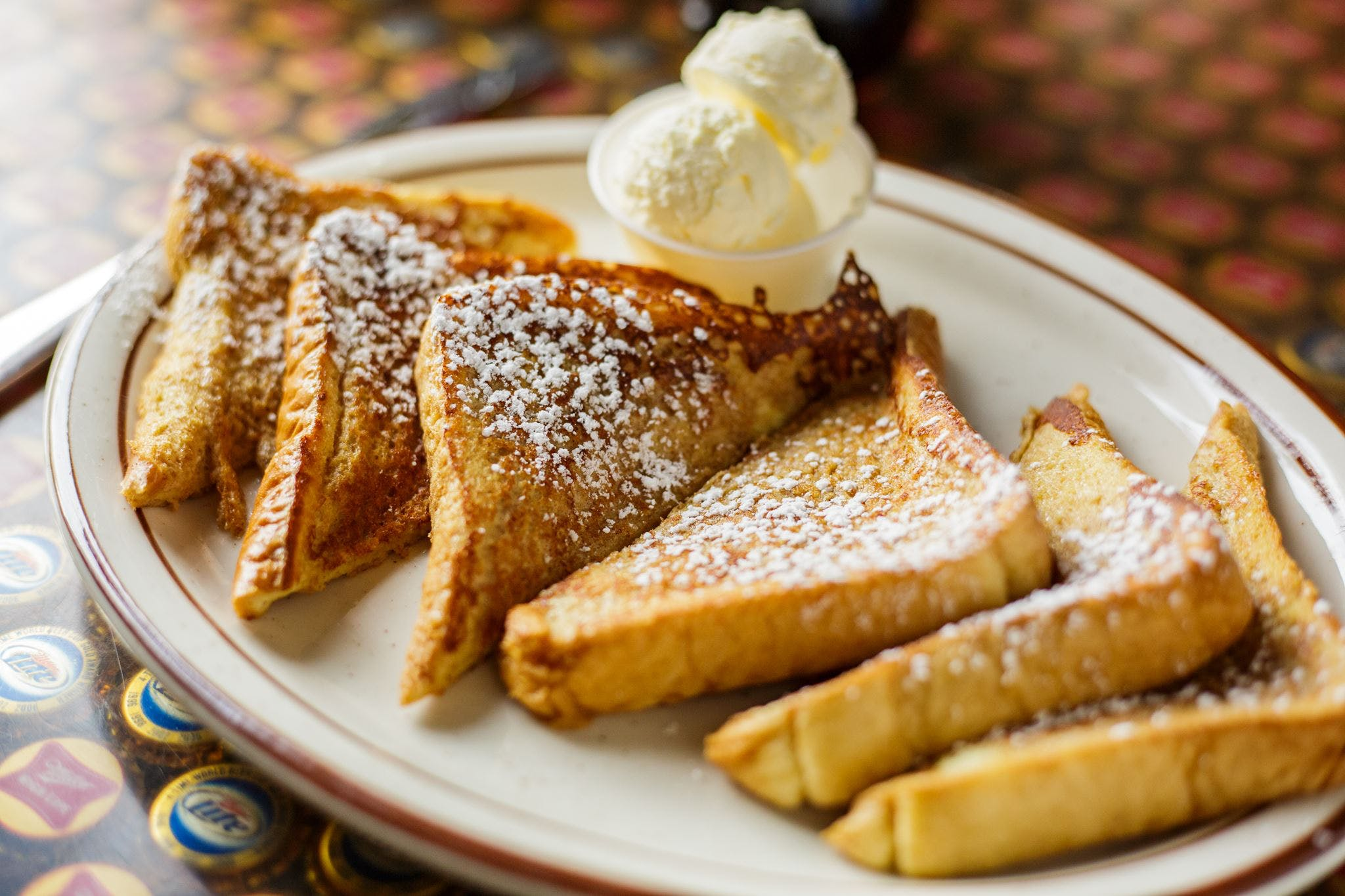 French Toast from Vintage Spirits & Grill in Madison, WI